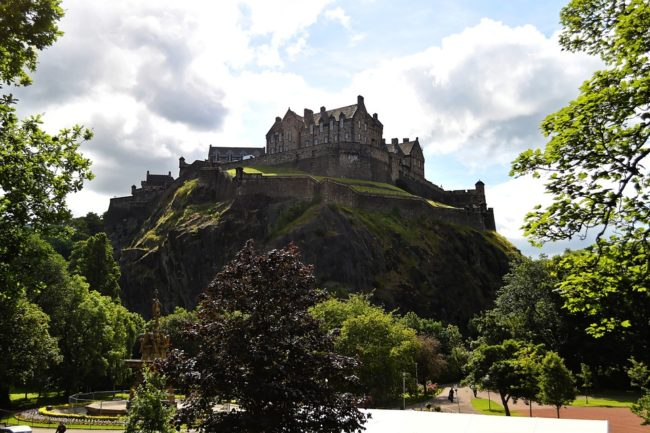 edinburgh-castle-most sustainable cities